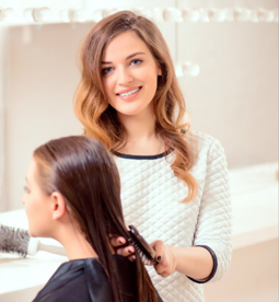 Spa Services such as: Cold Waxing, Manicuring, Pedicuring, Facials, and Makeup!