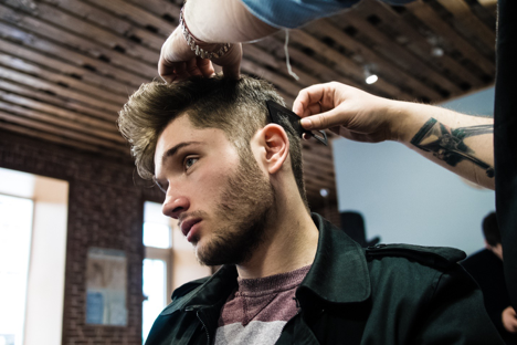 Men's Hair Cutting Training & Barbering School in Chicago